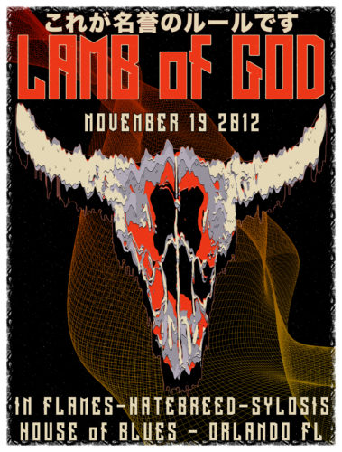 Lamb of God Orlando 2012 Mockup v2